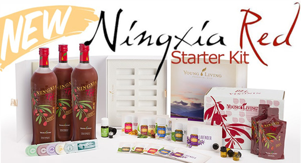Young Living Essential Oils NingXia Red Starter Kit